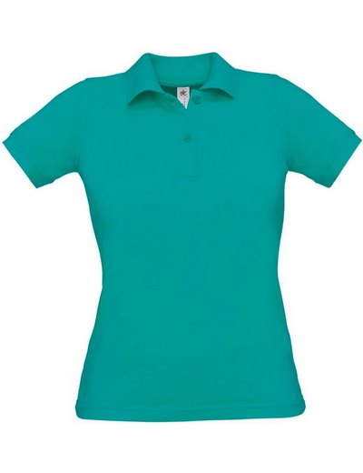 O24•B&C SAFRAN PURE /WOMEN, L, real turquoise (54)