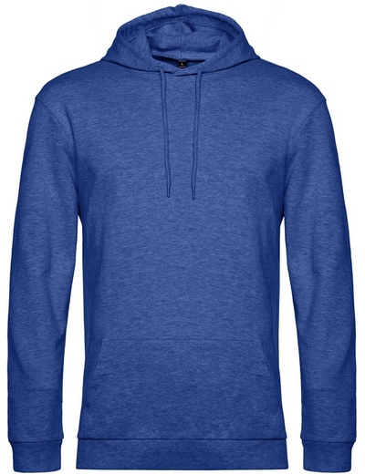 O72•B&C #HOODIE, 2XL, heather royal blue (49)