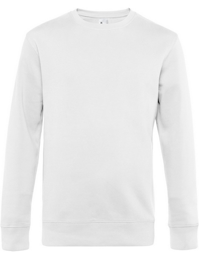 O82•B&C KING CREW NECK, 2XL, white (01)
