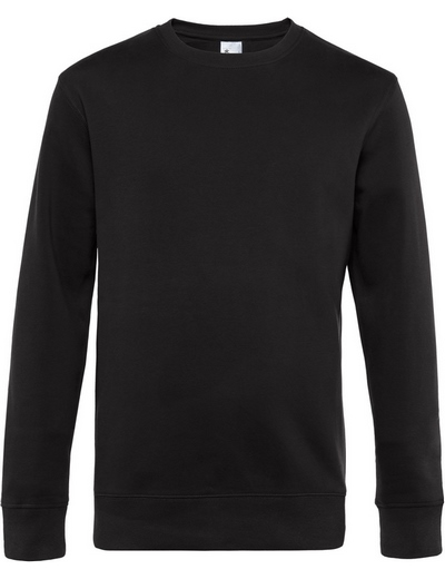 O82•B&C KING CREW NECK, 2XL, black pure (03)