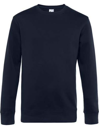 O82•B&C KING CREW NECK, 2XL, navy blue (04)