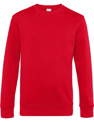 O82•B&C KING CREW NECK, 2XL, red (05)