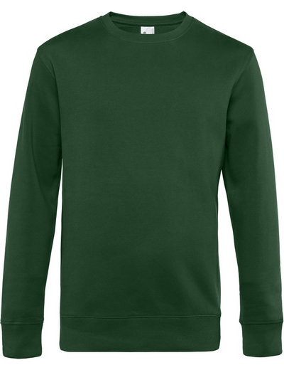 O82•B&C KING CREW NECK, 2XL, bottle green (06)