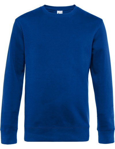 O82•B&C KING CREW NECK, 2XL, royal (07)