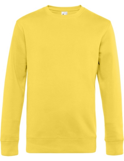 O82•B&C KING CREW NECK, 2XL, yellow fizz (09)
