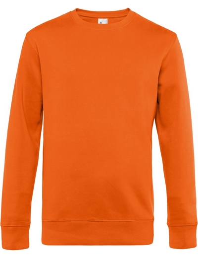 O82•B&C KING CREW NECK, 2XL, pure orange (10)