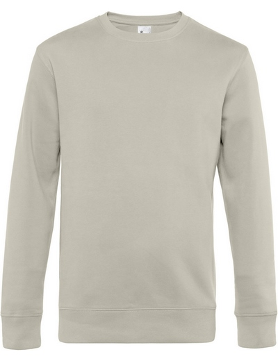 O82•B&C KING CREW NECK, 2XL, grey fog (11)