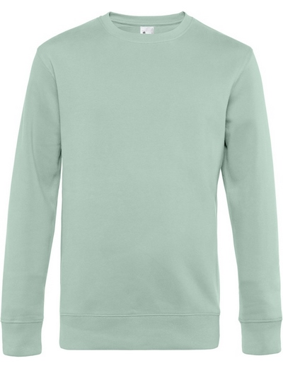 O82•B&C KING CREW NECK, 2XL, aqua green (21)