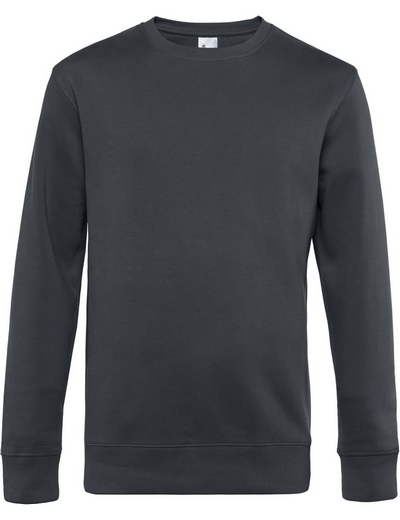 O82•B&C KING CREW NECK, 2XL, asphalt (23)