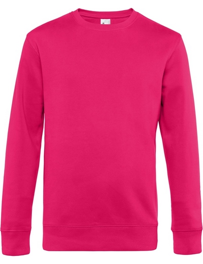 O82•B&C KING CREW NECK, 2XL, magenta pink (28)