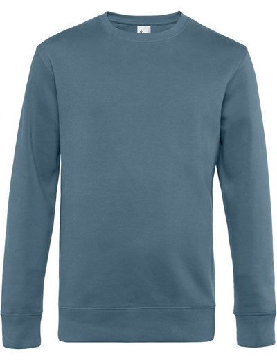 O82•B&C KING CREW NECK, 2XL, nordic blue (29)