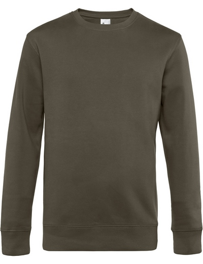 O82•B&C KING CREW NECK, 2XL, khaki (33)