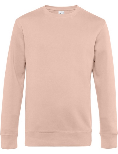 O82•B&C KING CREW NECK, 2XL, soft rose (35)
